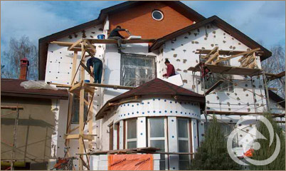 Открытие ордера на ремонт фасада